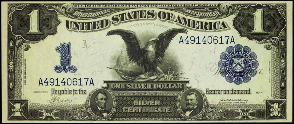 Old American Money Silver Dollar And Silver Certificate Values