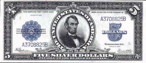 Old American Money - Silver Dollar and Silver Certificate Values ...
